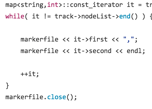 A small C++ program to convert motion capture marker data in C3D files to CSV format.