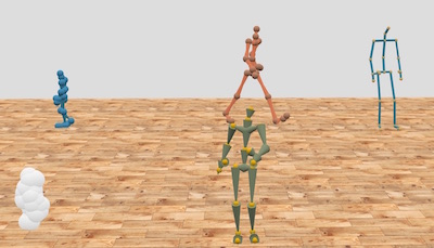 MocapJS is a motion capture library for Three.js. It is designed for applications such as web-based mocap players, streaming movement data, and virtual reality scenarios.